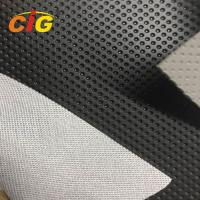 Buy cheap Embossed Soft PVC PU Leather Fabric For Car Seat Cover Abrasion Resistant from wholesalers