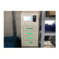 Buy cheap White Bar Restaurant Cell Phone Charging Stations Free Pay With 4 Lockers from wholesalers