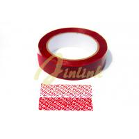 Buy cheap Tamper evident security tape with sequential number and perforation, Anti-counterfeiting void digital security tapes from wholesalers