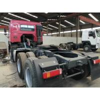 Buy cheap dumper semi trailer tractor head 6*4 10 Tires Sinotruck Howo tipper  dump truck tractor truck flatbed semi-trailer from wholesalers