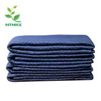Buy cheap hot sale 72*80 non woven multifunction furniture Moving Blankets 100% recycled textile materials from wholesalers