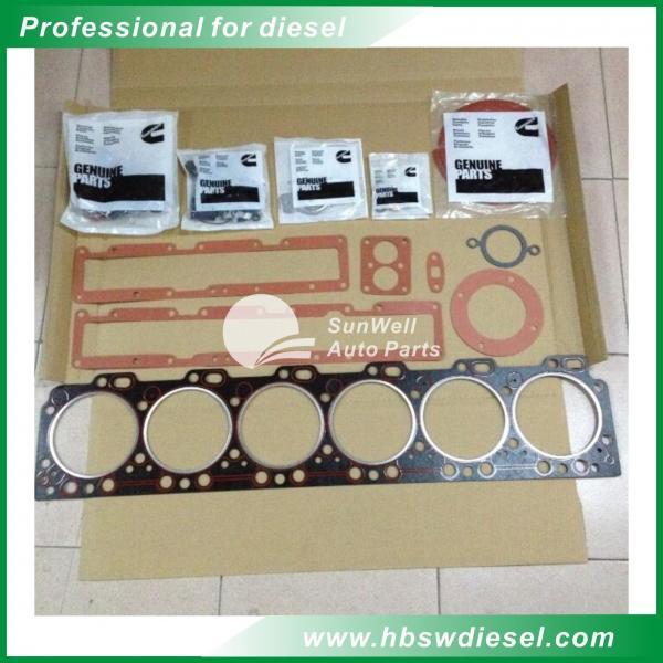 Buy cheap Cummins L375 ISLE Upper gasket sets sets 4089758 6L8.9 Top gasket sets from wholesalers