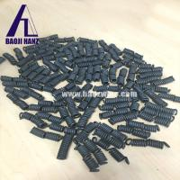 Buy cheap Shape memory Nitinol spring Room temlperature compress spring from wholesalers