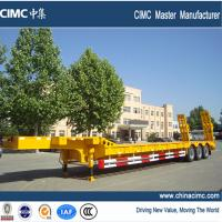 Buy cheap low bed semi trailer , tri-axle low bed semi trailer from wholesalers