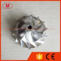 Buy cheap S200 51.80/74.10mm 7+7 blades Turbo Billet/milling/aluminum 2024 compressor wheel from wholesalers