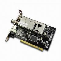 Buy cheap PCI TV Tuner Card, Supports Constant and Variable Bit Rates, AV/S Terminal Input Port from wholesalers