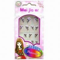 Buy cheap ABS Nail Tips for Children, with  Approval, OEM Services are Provided product