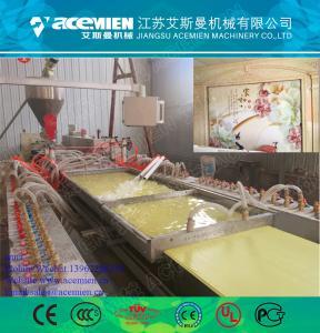 China Automatic PVC wall panel making machine/production line on sale