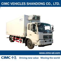 Buy cheap DongFeng 8 Ton 4*2 refrigerated cargo trailer refrigerated van truck freezertruc for sale from wholesalers
