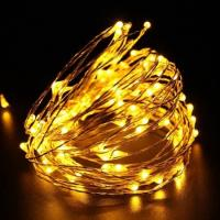Buy cheap 8 Modes Copper Wire String Lights 50 LEDs 16.4ft 50000 Hours Life Span from wholesalers