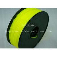 Buy cheap Yellow HIPS 3d Printer Filament 1.75 , material for 3d printing Markerbot , RepRap from wholesalers