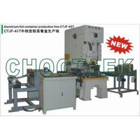 Buy cheap Aluminum foil container production line CTJF-45T from wholesalers