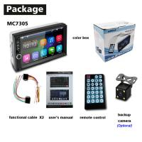 "Buy cheap 7"" 2 Din Car Stereo With Gps And Backup Camera 5m  Remote Range from wholesalers"