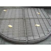Buy cheap Customize Stainless Steel Filter Wire Mesh Demister Pads For Absorbers / Scrubbers from wholesalers