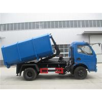 Buy cheap Dongfeng 5cbm / 4ton Waste Removal Trucks With Hydraulic Pull Arm Garbage Container from wholesalers