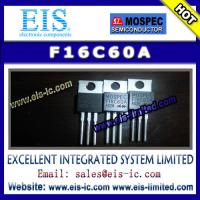 Buy cheap F16C60A - MOSPEC - POWER RECTIFIERS(16A,300-600V) product