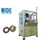 Buy cheap NIDE BLDC motor stator automatic needle winding Machine for fan motor from wholesalers