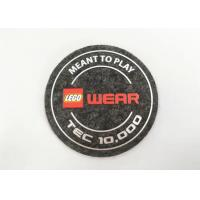 Buy cheap High Density Silicone Unique Iron On Patches Felt Fabric Labels Custom Logo Printing from wholesalers