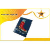 Buy cheap Screen Printing Custom Metal Badge Customized With Epoxy Cover from wholesalers