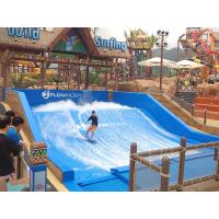 Buy cheap 165kw Swimming Pool Water Slides / Water Park Project Flow Rider Surf Simulator With Standard Size from wholesalers