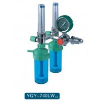 Buy cheap Gas Pressure And Gas Volume Adjustment Medical Oxygen Regulator Male / Female Connector from wholesalers