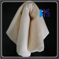 Quality 3.50sqft Fish Oil Tanned Sheep Skin Genuine Chamois Leather Car Washing for sale