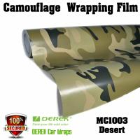 Buy cheap Camouflage Automotive Vinyl Wrapping Film bubble free 1.52*30m/roll - Desert from wholesalers