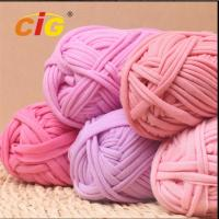 Buy cheap Colorful Dyed 100% Cotton Fabric Yarn Garments Accessories For DIY Hand Knitting from wholesalers