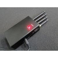 Buy cheap 4 Antenna Handheld Signal Jammer , High Power Mobile Phone Jammers For Cars from wholesalers