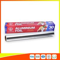 Buy cheap Customized Kitchen Aluminium Foil Roll Food Grade , Aluminium Wrapping Paper from wholesalers