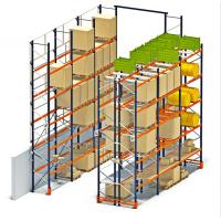 Buy cheap High Cube Pallet Storage Racks , Multi Level Pallet Rack Shelving from wholesalers