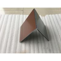 Buy cheap Various Colors Aluminium Wall Cladding PanelsWith High Impact Resistance product
