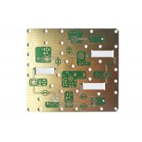 Buy cheap 4-Layer Rogers PCB Gold Rogers 4003 Satellite Antenna Board from wholesalers