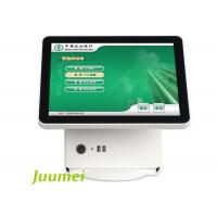 Buy cheap 15 Inch Touchscreen Desktop Simple QMS Ticket Dispenser from wholesalers