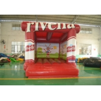 Buy cheap Fire Retardant Adult Tarpaulin Inflatable Air Jumper For Playing Center from wholesalers