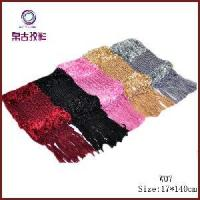 Buy cheap Feather Hand-Knitted Scarf Disply (W07) from wholesalers