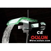 Buy cheap bath shower faucet glass from wholesalers