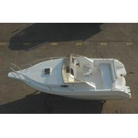 Buy cheap 20 Ft Simple Pleasure Yacht Fiberglass Big Cabin Room With Sofa / Skylight from wholesalers