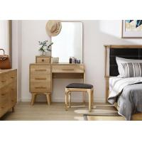 Buy cheap Practical Girls Oak Dressing Table Set , Bedroom Furniture Dressing Table from wholesalers