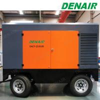 Buy cheap 250psi 750cfm Portable Mobile Screw Diesel Engine Air Compressor Factory from wholesalers