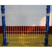 Buy cheap Bending Triangular Welded Wire Mesh Fence PVC Coated For Road from wholesalers
