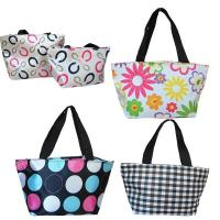 Buy cheap ECO Durable Ladies Tote Bags Fashion Polyester Lunch Bag OEM ODM from wholesalers