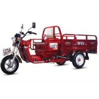 Buy cheap 4 Stroke Air Cooling Gasoline Electric Cargo Motorcycle With CCC Certification from wholesalers