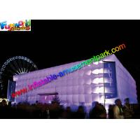 Buy cheap Large Cube Inflatable Party Tent Air Building For Music Dancing from wholesalers