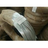 Buy cheap Zinc Coating Electric Galvanized Iron Wire / Loop Type Galvanized Binding Wire from wholesalers