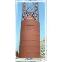 Buy cheap Carbon Steel Cement Silo 19M Tanker Total Height  for concrete mixing plant from wholesalers