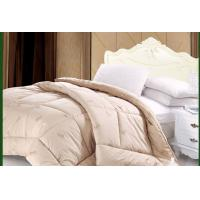 Buy cheap 100% natural washable camel hair wool thick quilt from wholesalers