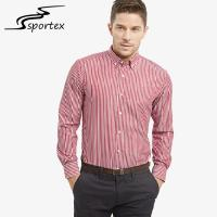 Buy cheap Beautiful Appearance Male Formal Shirts 100% Cotton Fabric Type Soft Hand Feeling from wholesalers