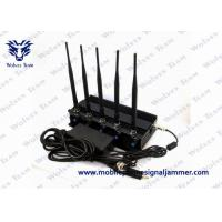 Buy cheap Cell Phone GPS Jammer 5 High Power Antenna Outstanding Heat Dissipation from wholesalers