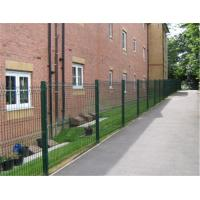 Buy cheap Heavy Galvanised Steel Mesh Fence Panels 4mm Wire Rectangle Hole from wholesalers